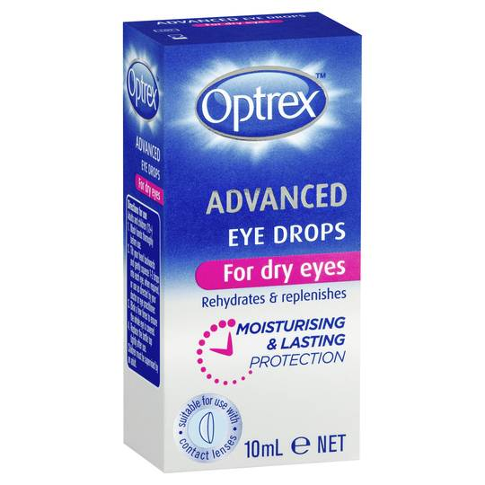 Optrex Advanced Eye Drops Dry Eyes