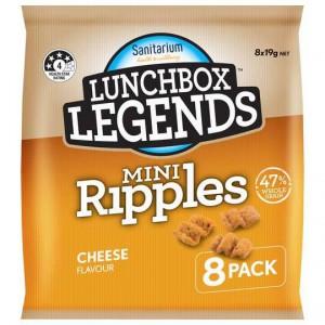 Lunchbox Legends Mini Ripple Cheese