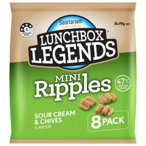 Lunchbox Legends Mini Ripple Sour Cream