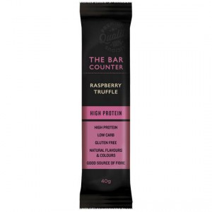 The Bar Counter High Protein Bar Raspberry Truffle