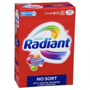 Radiant No Sort Laundry Powder Front & Top Loader