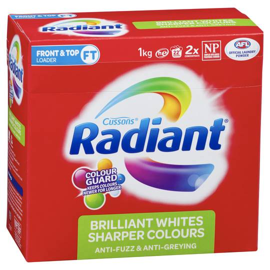 Radiant Colour Care Laundry Powder Front & Top Loader