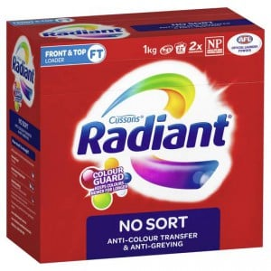 Radiant No Sort Laundry Powder Front & Top Loader