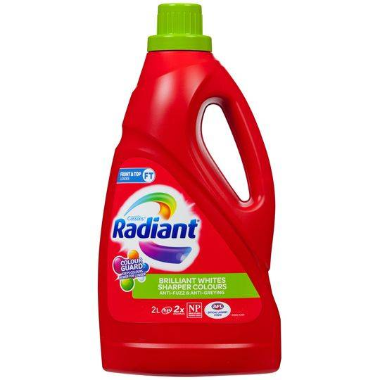 Radiant No Sort Laundry Liquid Front & Top Loader