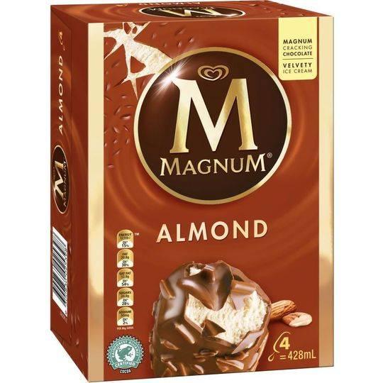 Streets Magnum Ice Cream Almond