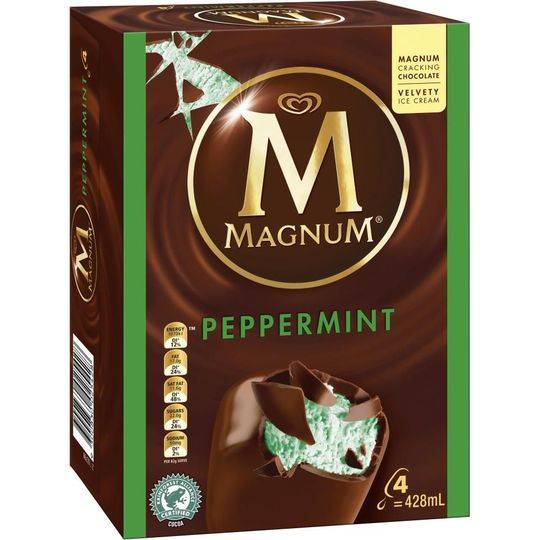 Streets Magnum Ice Cream Peppermint