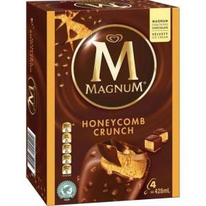 Streets Magnum Ice Cream Honeycomb Crunch