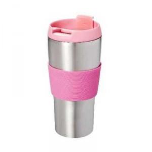 Travel Mug Stainless Steel Pink
