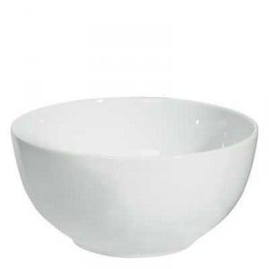 Home Essentials Dinnerware Large Bowl Porcelain White