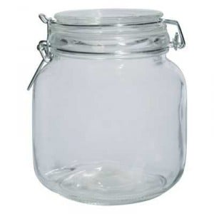 Home Essentials Glassware Jar Small
