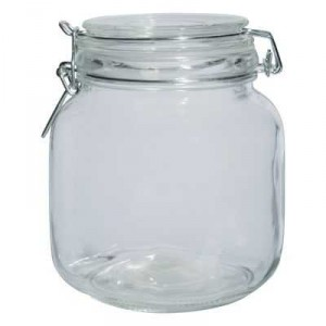 Home Essentials Glassware Jar Small