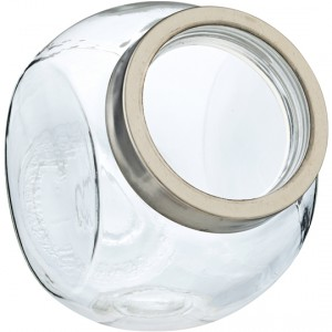 Home Essentials Glassware Biscuit Jar