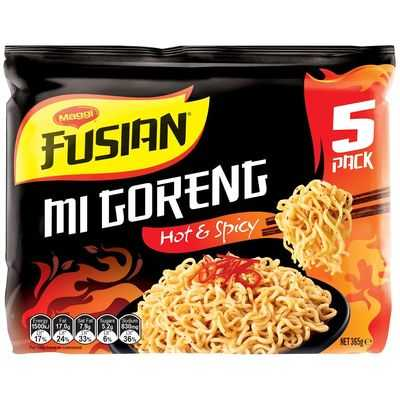 Maggi Fusian Hot & Spicy Instant Noodles
