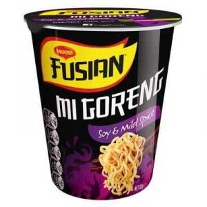 Maggi Fusian Mi Goreng Soy & Mild Spice Noodle Cup