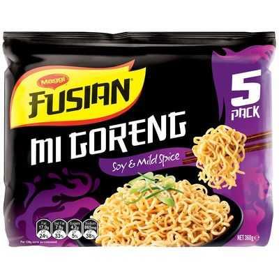Maggi Fusian Soy & Mild Spice Instant Noodles