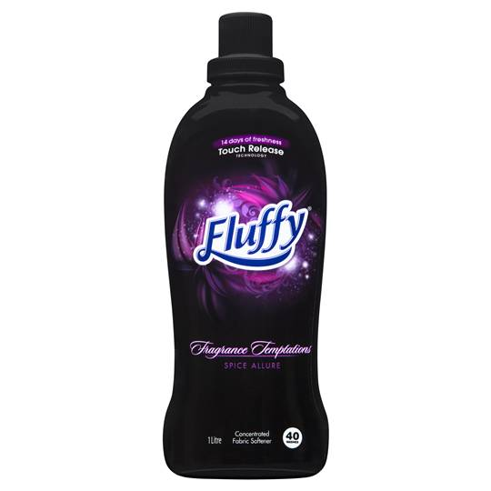 Fluffy Fragrance Temptations Fabric Softener Spice Allure