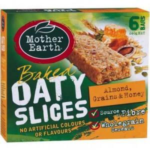 Mother Earth Oaty Slice Almond Grain