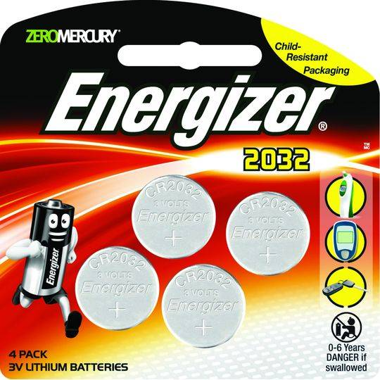 Energizer Button Battery Lithium 2032