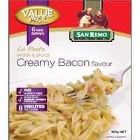 San Remo La Pasta Creamy Bacon