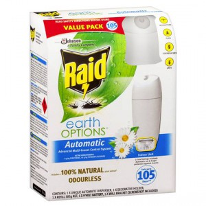 Raid Advanced Auto Insect Control System Indoor Primary