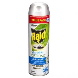 Raid Advanced Auto Insect Control System Indoor Refill
