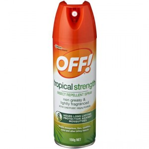 Off Skintastic Insect Repellent Tropical Spray