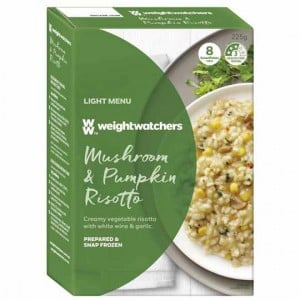 Weight Watchers Creamy Mushroom & Pumpkin Risotto