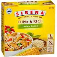 Sirena Tuna Rice Italian Salad