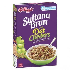 Kellogg's Sultana Bran Extra With Crunchy Oat Clusters