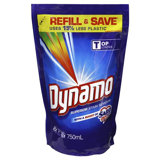 Dynamo With Sard Top Loader Liquid Refill