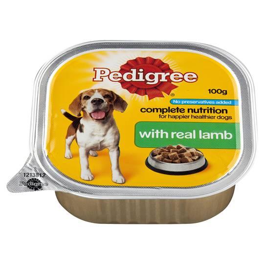 Pedigree Adult Dog Food With Real Lamb
