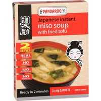 Pandaroo Japanese Instant Miso Soup Fried Tofu