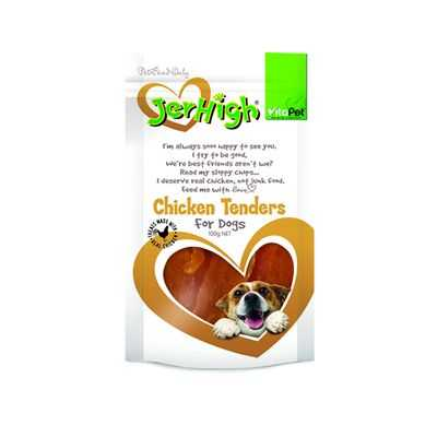 Vitapet Jerhigh Treat Chicken Tenders