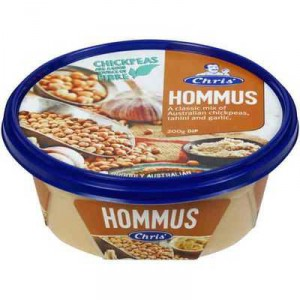 Chris' Dips Traditional Hommus