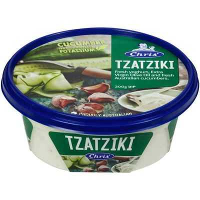 Chris' Dips Tzatziki