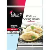 Crazy Dragon Asian Pork Dumpling