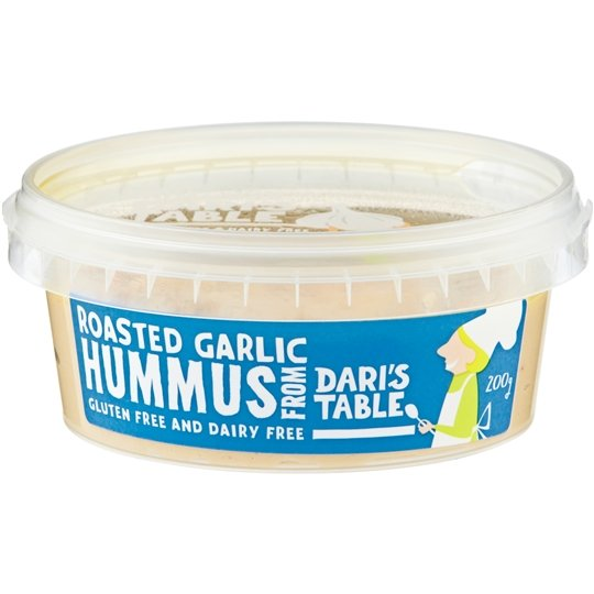Dari's Table Hummus Roasted Garlic