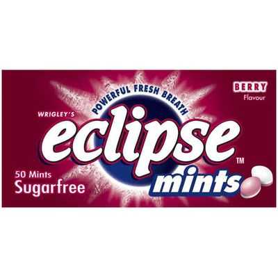 Wrigley's Eclipse Mints Fruit Berry