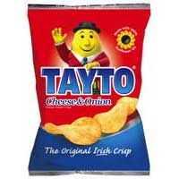 Tayto Snacks Cheese & Onion Crisps