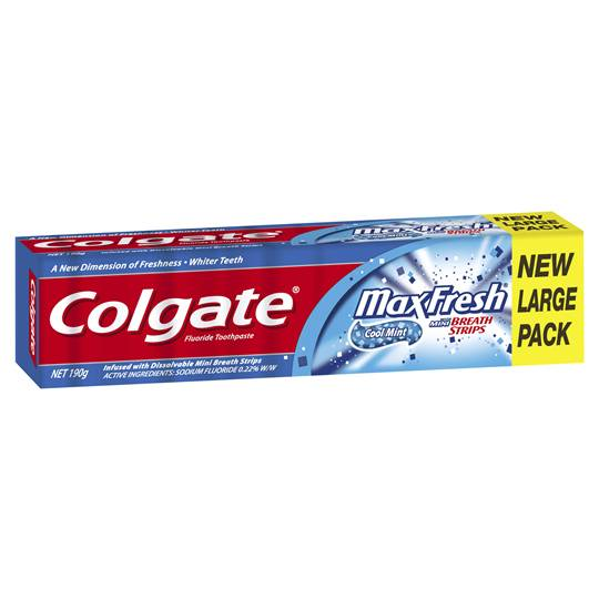 Colgate Max Fresh Toothpaste Cool Mint
