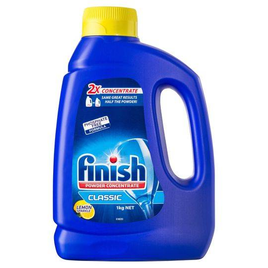 Finish Dishwashing Powder Concentrate Lemon