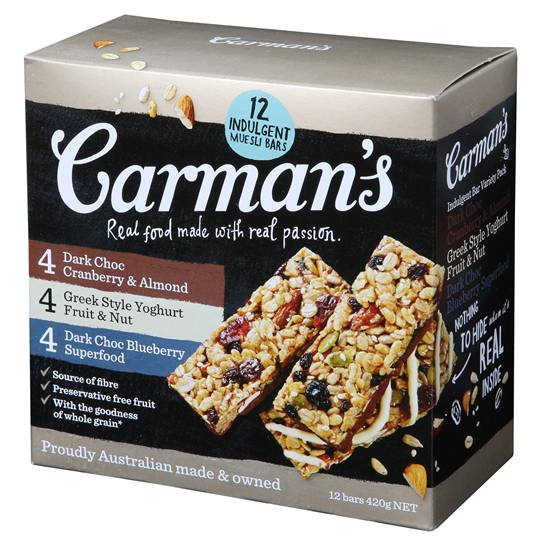 Carman's Indulgent Variety Bars