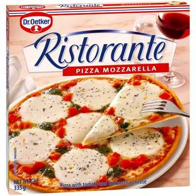 mom70876 reviewed Dr Oetker Ristorante Pizza Mozzarella