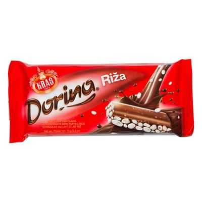 Dorina Confectionary Rice Chocolate Snack