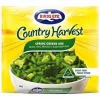 Birds Eye Country Harvest Mixed Vegetables Spring Greens