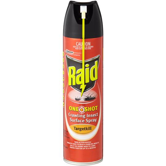 Raid Insect Control One Shot Target Kill