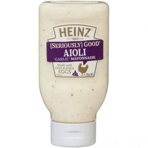 Heinz Seriously Good Aioli Garlic Mayonnaise