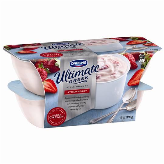 Danone Greek Yoghurt Strawberry