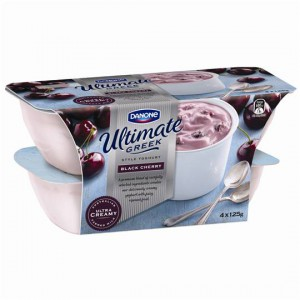 Danone Greek Yoghurt Black Cherry