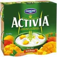 Danone Activia Low Fat Yoghurt Mango